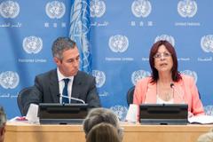 Embajadora argentina María Perceval (Foto UN)