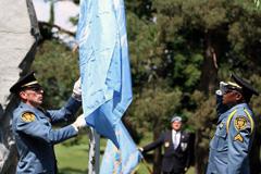 Homenaje en el Palacio de las Naciones (Foto UN/ P.A)
