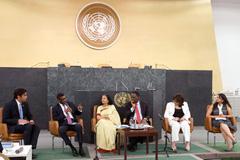 Diálogo con la juventud en la ONU (Foto UN)