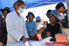 Formal al personal de salud (Foto PAHO)