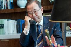 Ban Ki-moon Secretario General de la ONU (Foto UN)