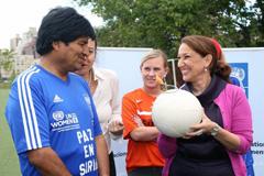 Presidente Evo Morales (Foto PNUD)