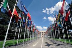 Palacio de las Naciones en Ginebra (Foto UN)