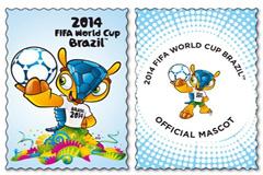 Sellos del mundial de Brasil (Foto FIFA)