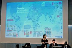 Presentación del informe 2013 (Foto ITU)