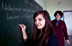 Maestra en Macedonia (Foto Unesco/ J.Idrizi)