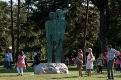 Monumento a la vida (Foto UN/ J.M. Ferré)