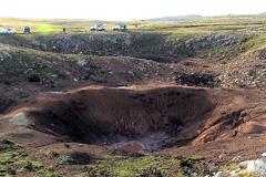 Tierras arrasadas por bombardeos (Foto UN)
