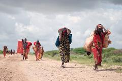 Desplazados en Somalia (Foto UN)