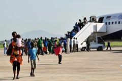 Emigrantes africanos asistidos por la ONU (Foto OIM)