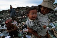Niños en la pobreza extrema (Foto WB)