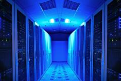 Un sala de servidores Internet (Foto UIT)
