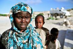 Niños y mujeres víctimas (Foto UN)