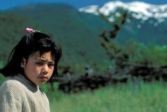 Niña mapuche en Chile (Foto WB)