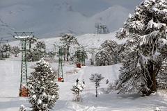 Centros de esquí m¿as turísticos (Foto TN)