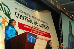 Campaña de prevención del cáncer (Foto PAHO)