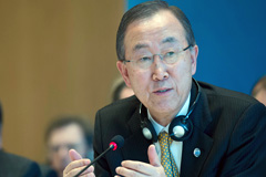 Ban Ki-moon (Foto UN/ J.M. Ferré)