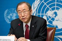Rueda de prensa de Ban Ki-moon (Foto UN)
