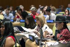 Minorías étnicas en la ONU (Foto UN/ Bajornas)
