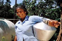 Trabajadora doméstica (Foto WB)