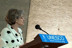 Irina Bokova, Directora de la Unesco (Foto UN)
