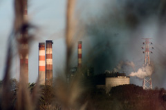 Contaminación industrial (Foto I. Grosso)