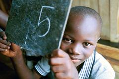 Un alumno africano (Foto WB/ Vitale)
