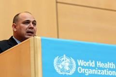 Roberto Morales, ministro de salud de Cuba (WHO)