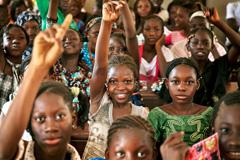 Alumnas como las secuestradas (Foto UN)