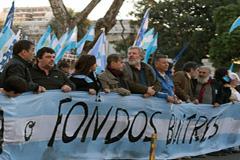 Manifestaciones en Argentina (Foto Cabrera)