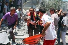 Civiles y niños principales víctimas (CICR)