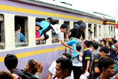 Jóvenes migrantes (Foto IOM)