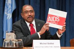 Michel Sidibé, director de ONUSIDA (Foto UN)