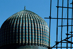 Templo histórico e Uzbequitán (Foto WB)