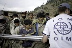 Trabajador humanitario de la OIM (Foto UN)