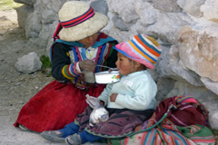 Niños del altiplano boliviano (Foto WB)