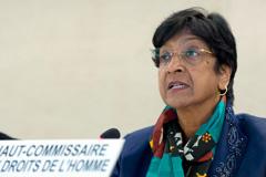 Navi Pillay Alta Comisionada de la ONU (Foto UN)