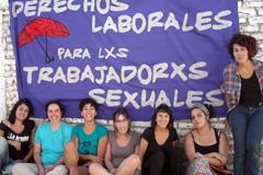 Militantes por derechos laborales (Foto Red)