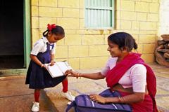 Alfabetizar las niñas es clave (Foto WB)