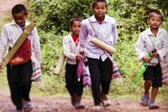 Niños migrantes (Foto WB)