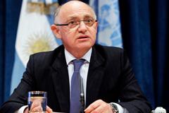 Ministro argentino Héctor Timmerman (Foto UN)