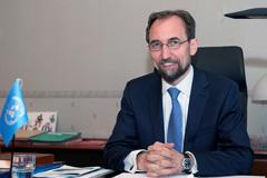 Zeid Ra'ad Al-Hussein (Foto UN/ J.P. Ferré)