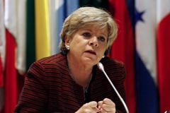 Alicia Barcena Sec. Ejecutiva CEPAL.