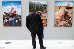 Exposición en la FAO: agricultura familiar