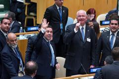 Delegación venezolana celebra elección (UN)