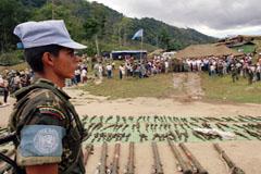 Desmovilización guerrillera en Colombia (UN)