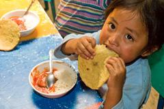 El hambre amenaza niños de Centroamérica (WB)