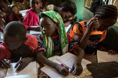 Alumnas de una escuela de Mali (Foto UN)