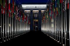 El Palacio de las Naciones en Ginebra (UN)