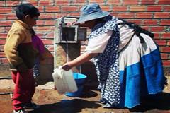 Escasez de agua en países pobres (WB)